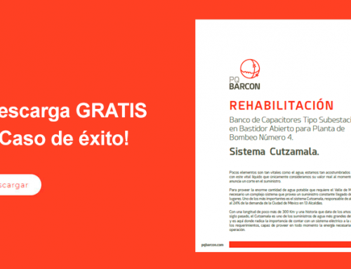 Caso de éxito – Rehabilitación Banco de Capacitores Sistema Cutzamala